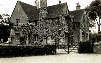 Stevington Vicarage about 1900 [Z1306/112]